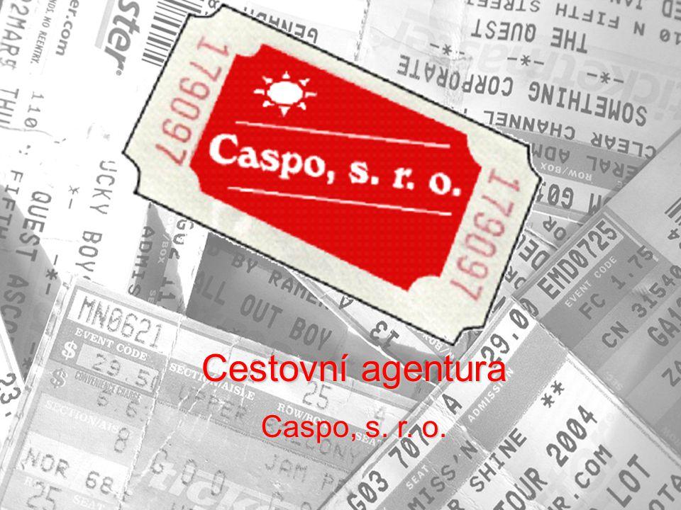 Cestovní agentura Caspo, s. r. o.