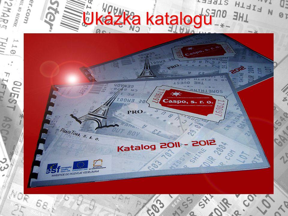 Ukázka katalogu Ukázka katalogu