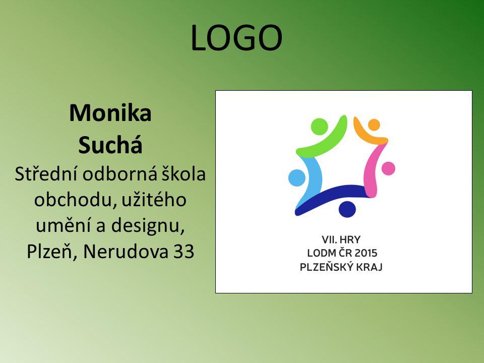 Monika Suchá Střední odborná škola obchodu, užitého umění a designu, Plzeň, Nerudova 33 LOGO