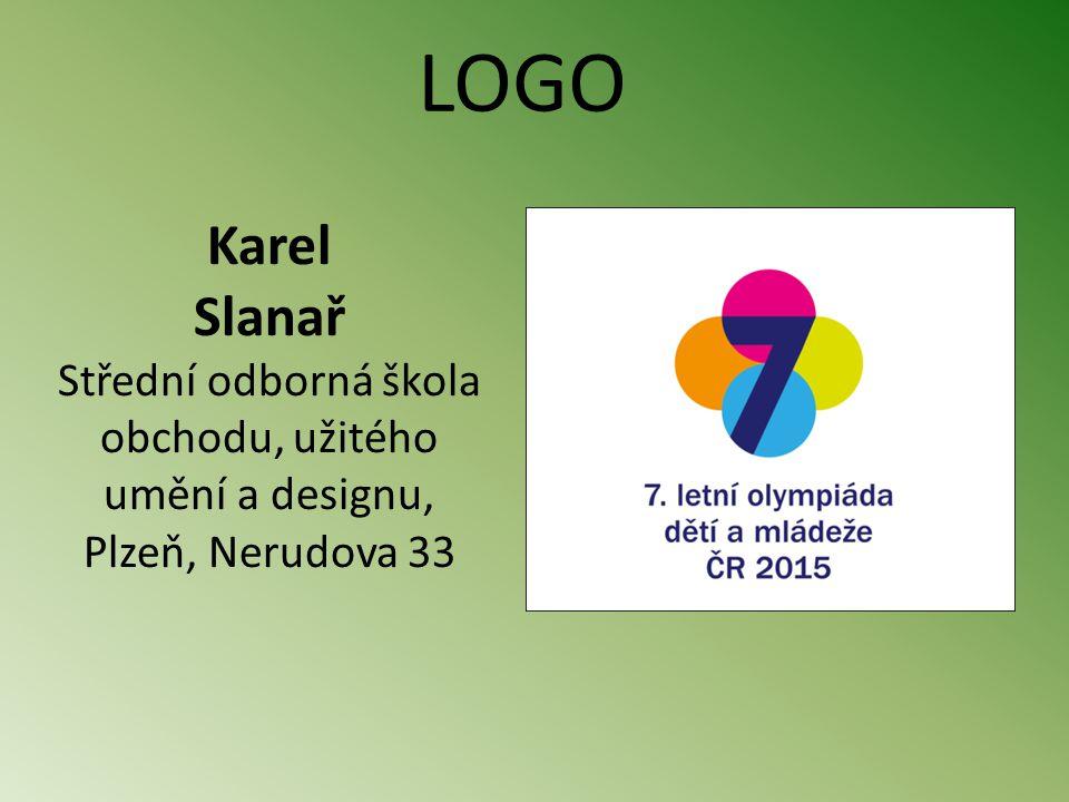 Karel Slanař Střední odborná škola obchodu, užitého umění a designu, Plzeň, Nerudova 33 LOGO