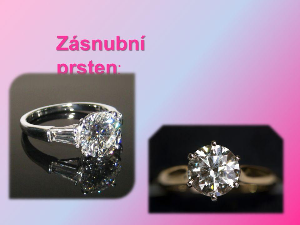 Zásnubní prsten :