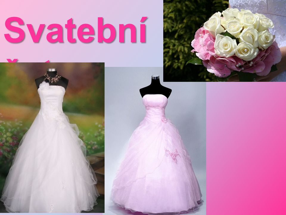 Svatební šaty: