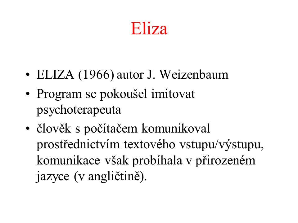 Eliza ELIZA (1966) autor J.