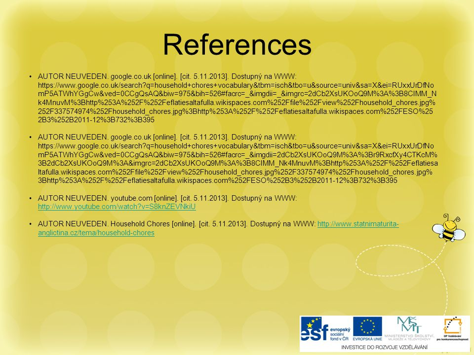 References AUTOR NEUVEDEN. google.co.uk [online].