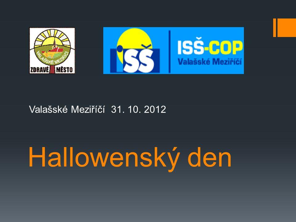 Hallowenský den Valašské Meziříčí 31. 10. 2012