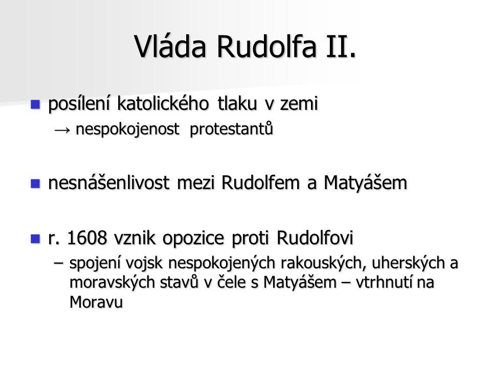 České stavy a Rudolf II.