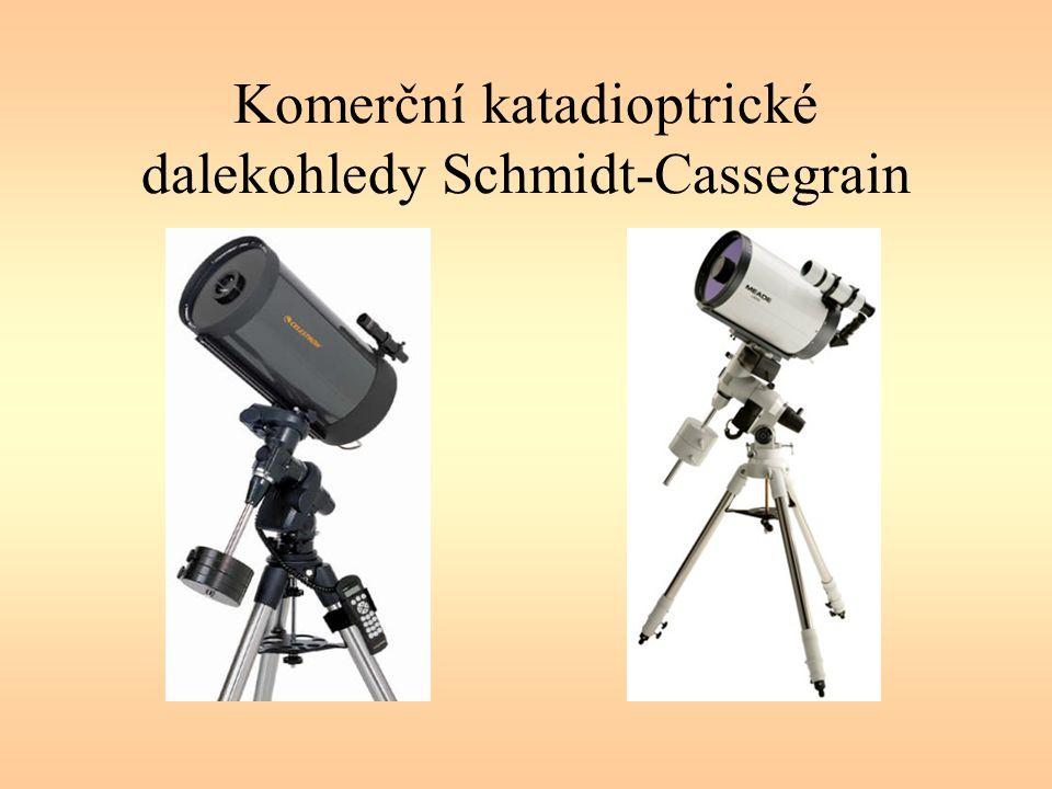 Komerční katadioptrické dalekohledy Schmidt-Cassegrain