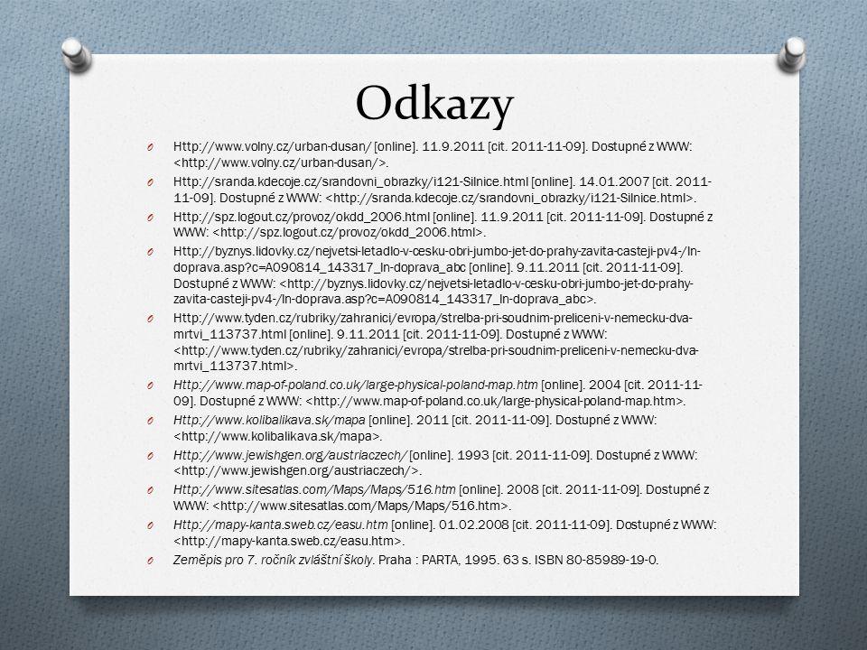 Odkazy O Http://www.volny.cz/urban-dusan/ [online]. 11.9.2011 [cit. 2011-11-09]. Dostupné z WWW:. O Http://sranda.kdecoje.cz/srandovni_obrazky/i121-Si