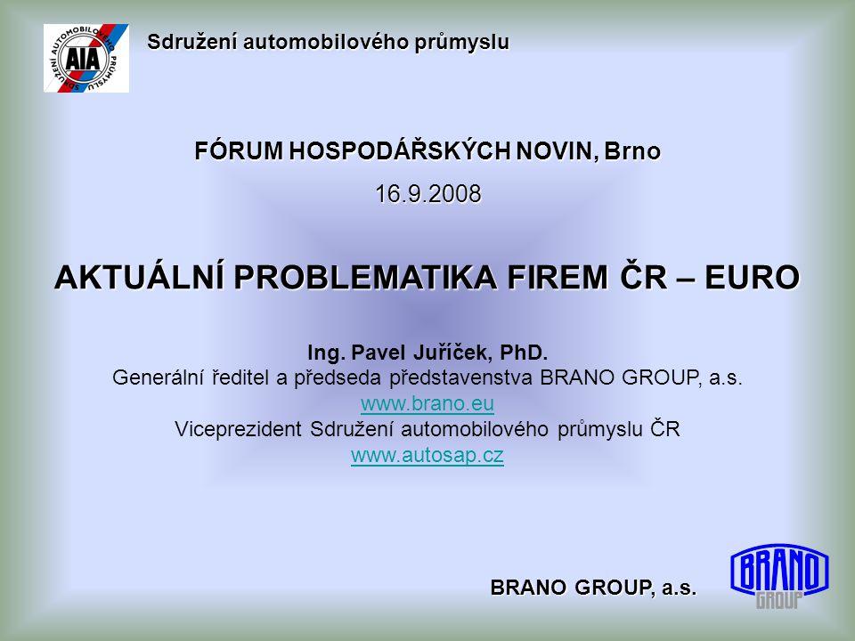 Sdružení automobilového průmyslu BRANO GROUP, a.s.