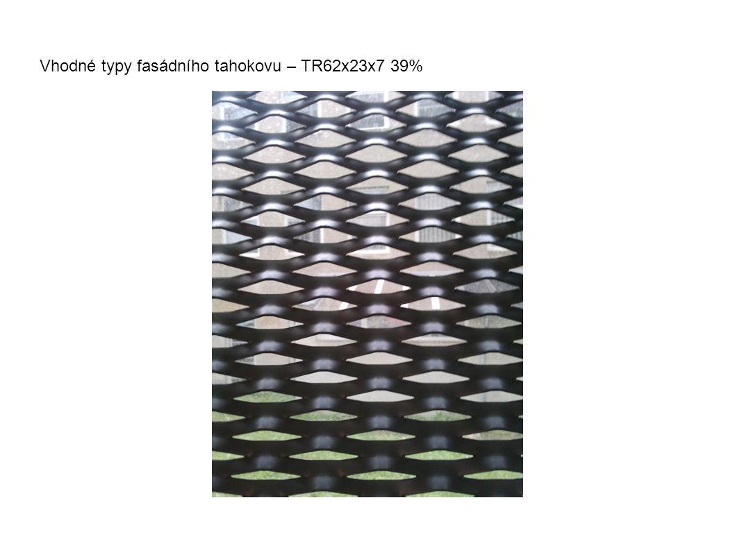 Vhodné typy fasádního tahokovu – TR62x23x7 39%