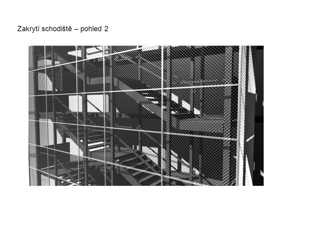 Zakrytí schodiště – pohled 2