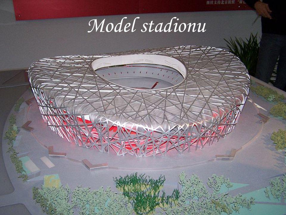 Vytvořil: Jakub Takacs Model stadionu