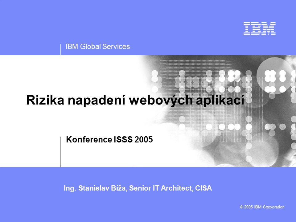 IBM Global Services Ing.