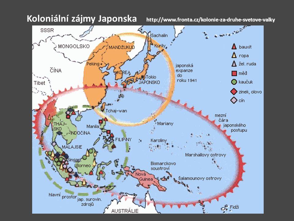 Koloniální zájmy Japonska http://www.fronta.cz/kolonie-za-druhe-svetove-valky