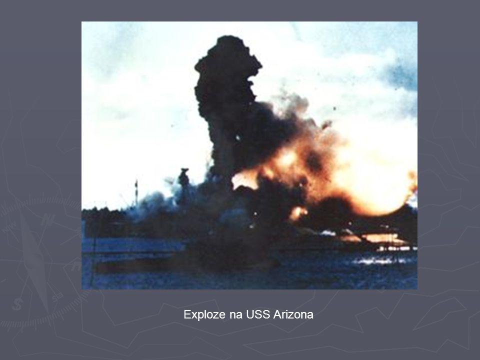 Exploze na USS Arizona