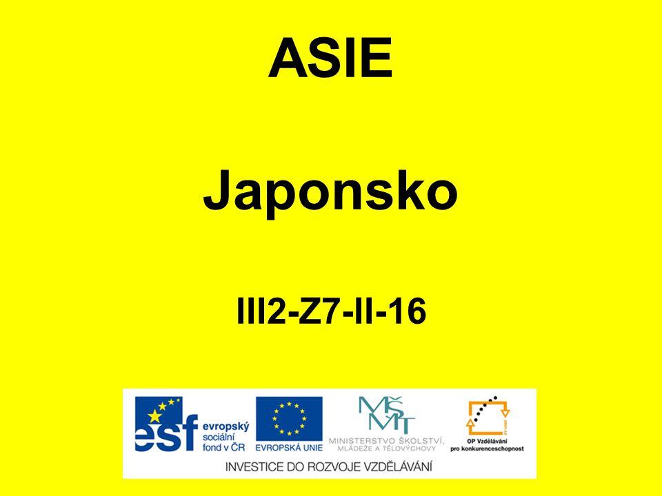 ASIE Japonsko III2-Z7-II-16