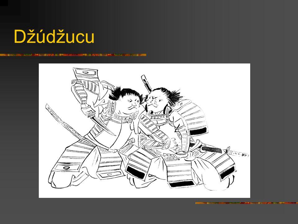 Kobudó Džúdžucu Kendžucu Sódžucu Naginatadžucu Kjúdžucu Bódžucu Hanbódžucu Šurikendžucu Torinawadžucu Džuttedžucu Nindžucu Tradiční školy ale obvykle obsahovaly různé techniky (beze zbraní i se zbraněmi) a taktiky