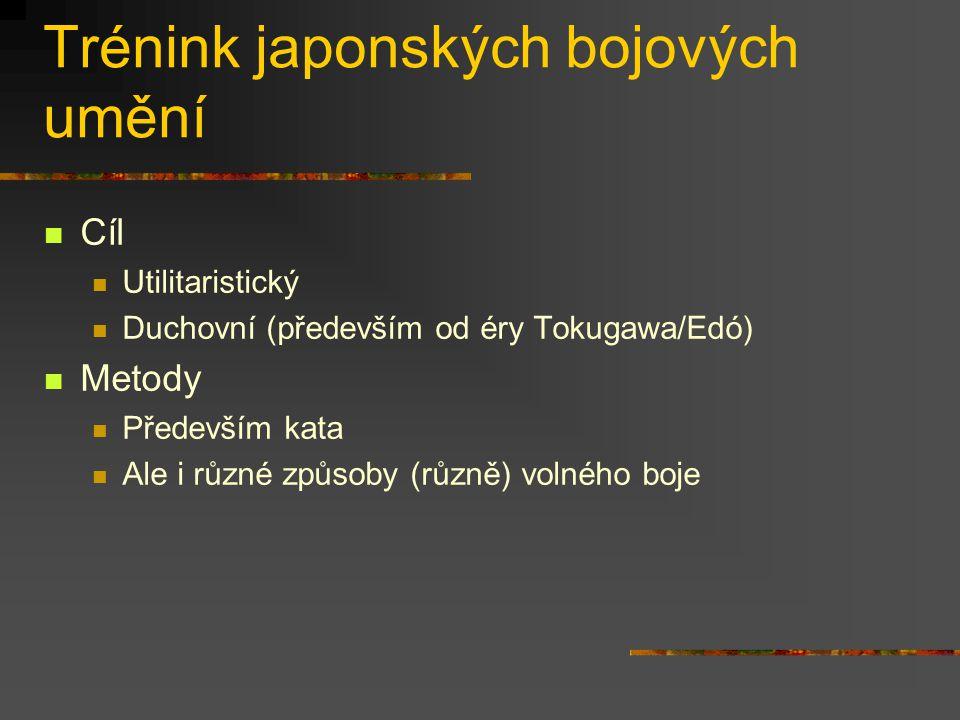 Zdroje japonských bojových umění Tradice (ve smyslu konfucianismu) Písemné záznamy Musaši Miajmoto: Gorin no šo Munenori Jagjú: Heihó kadenšo Záznamy