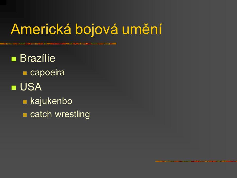 Evropská bojová umění Francie savate, canne de combat Anglie bartitsu, defendu, Westmorland wrestling, Cumberland wrestling Portugalsko jogo do pau (ž