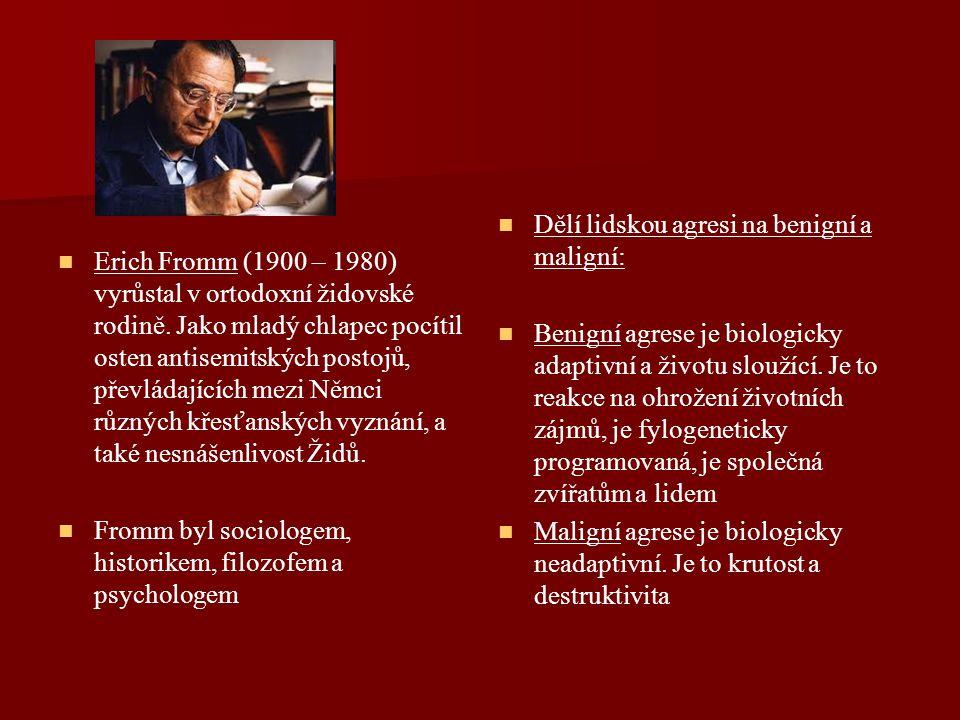 Erich Fromm (1900 – 1980) vyrůstal v ortodoxní židovské rodině.