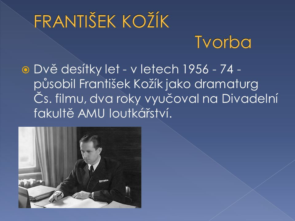  Od roku 1975 jako penzista intenzivně pracoval na svých literárních dílech.