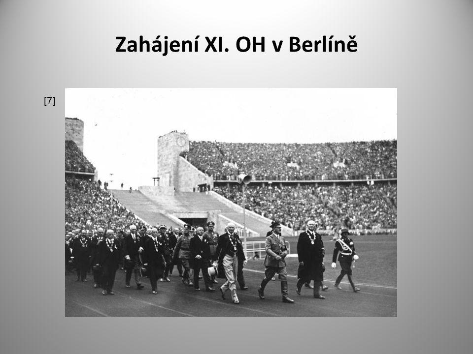 Zahájení XI. OH v Berlíně [7]