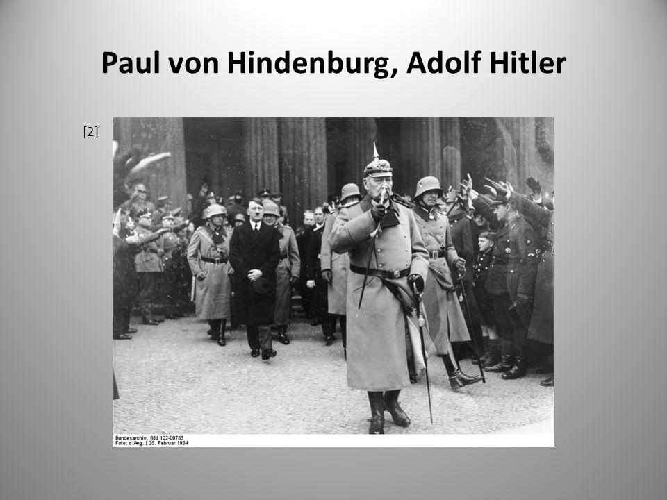 Paul von Hindenburg, Adolf Hitler [2]