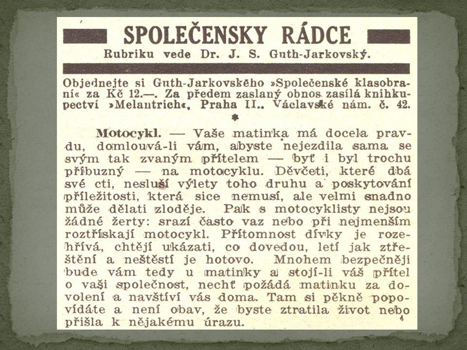 Paměti Vývoj českého olympiemi Turistika
