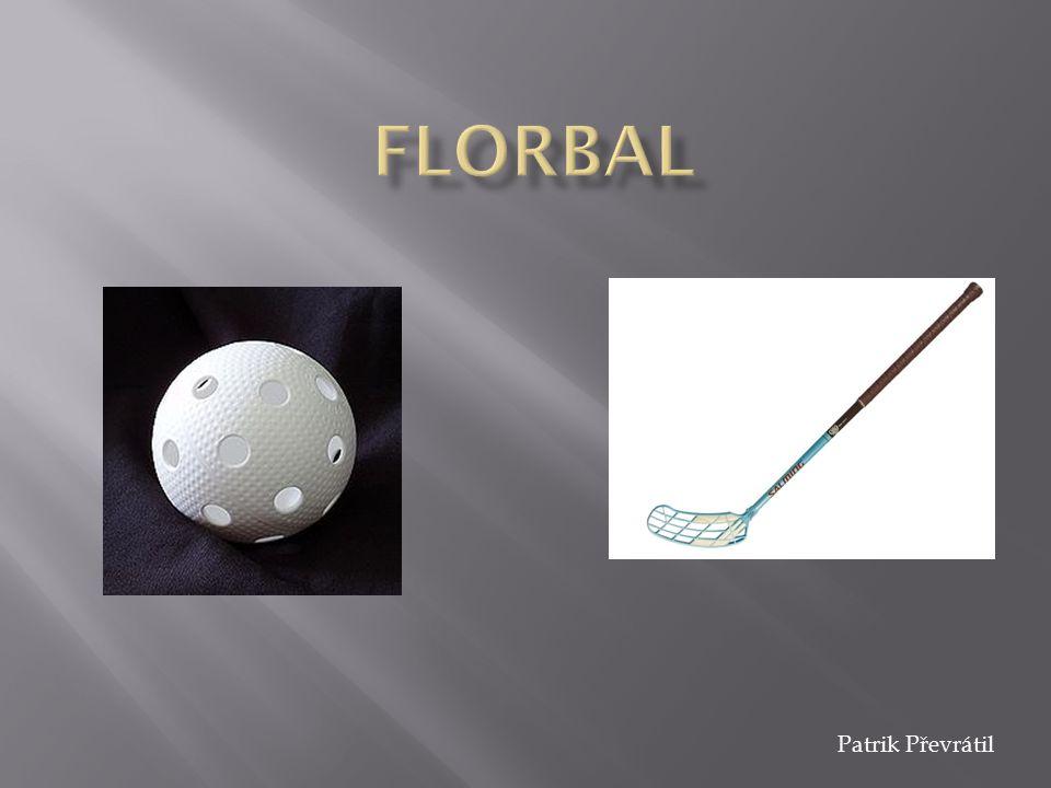  Halový sport  Hraje se florbalovou hokejkou  Hraje pět hráčů plus brankář