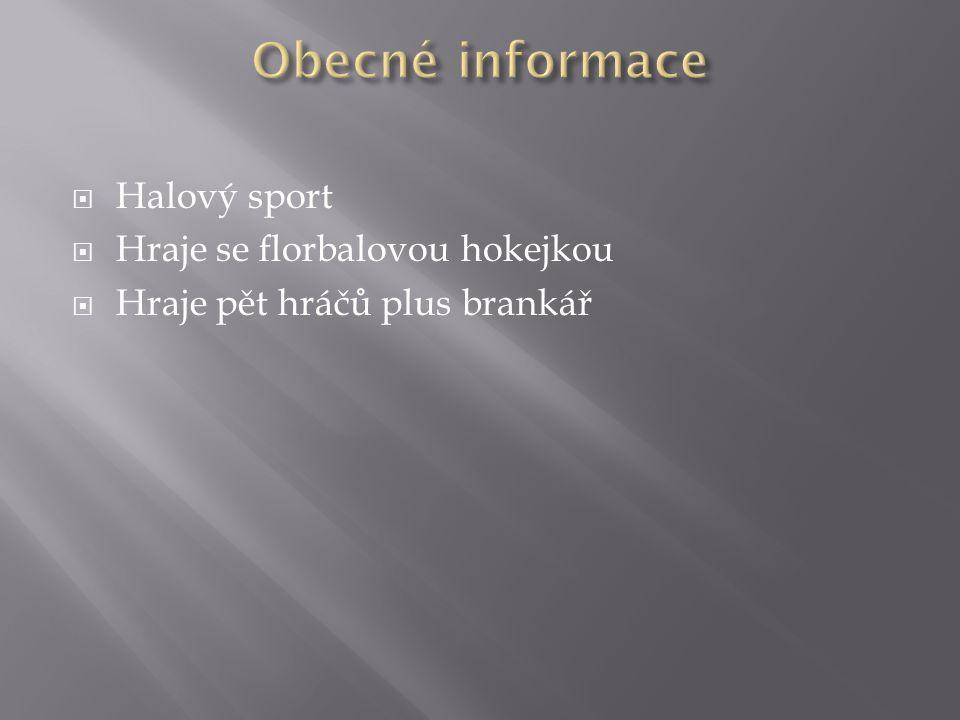 KKolébka florbalu je Skandinávie NNejvětší rozkvět ve Švédsku v 70.letech PPůvodní název floorhockey PPrvní mistrovství Evropy mužů se konalo ve Finsku roku 1994 PPrvní mistrovství světa se konalo ve Švédsku roku 1996