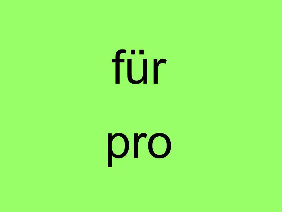 für pro