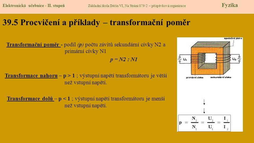 39.6 Něco navíc pro šikovné Elektronická učebnice - II.