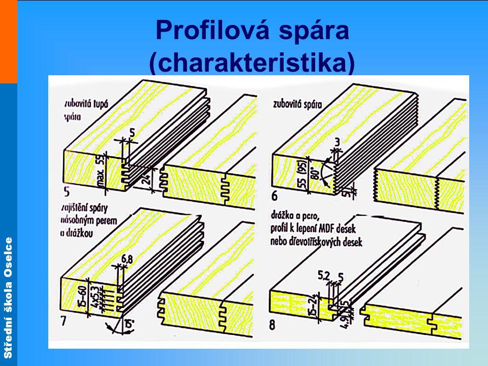 Střední škola Oselce Profilová spára (charakteristika)