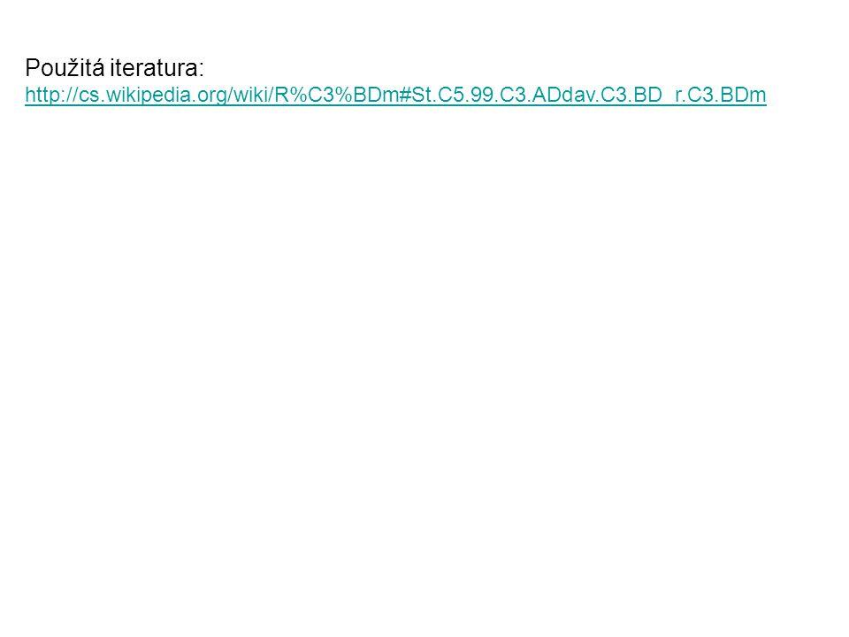 Použitá iteratura: http://cs.wikipedia.org/wiki/R%C3%BDm#St.C5.99.C3.ADdav.C3.BD_r.C3.BDm http://cs.wikipedia.org/wiki/R%C3%BDm#St.C5.99.C3.ADdav.C3.B