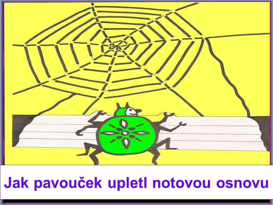 V jedné daleké zemi žil pavouček, který se Jmenoval PROVAZNÍČEK.