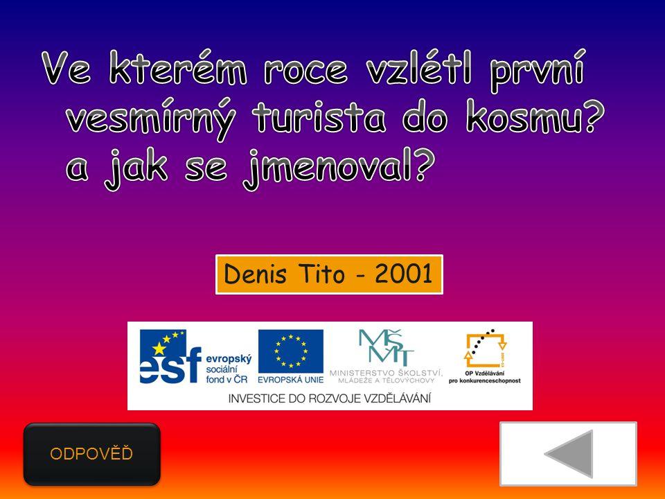 ODPOVĚĎ Denis Tito - 2001