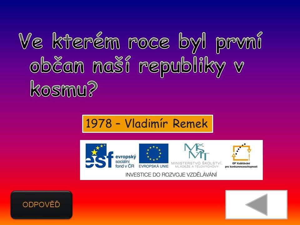 ODPOVĚĎ 1978 – Vladimír Remek