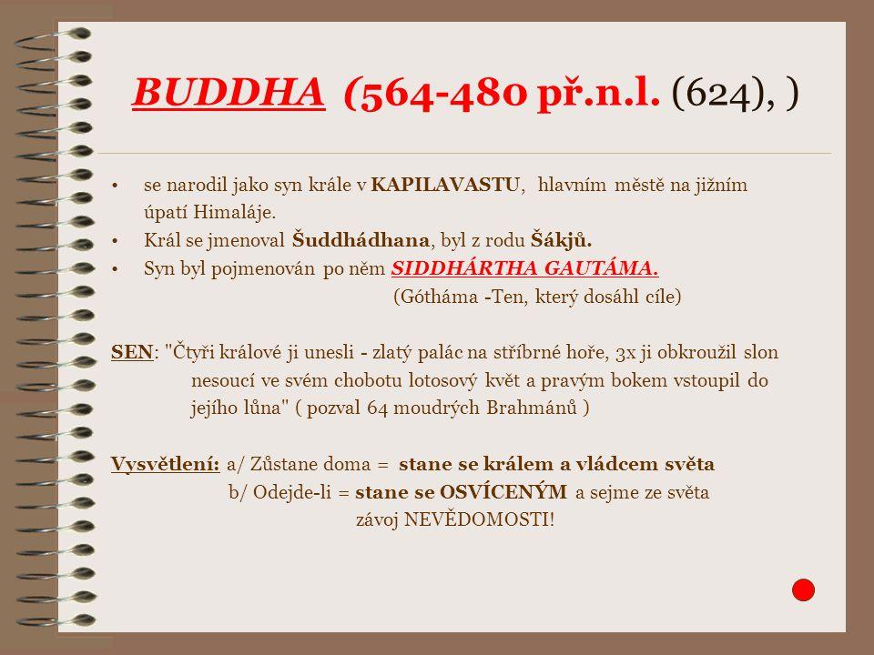 BUDDHA (564-480 př.n.l.