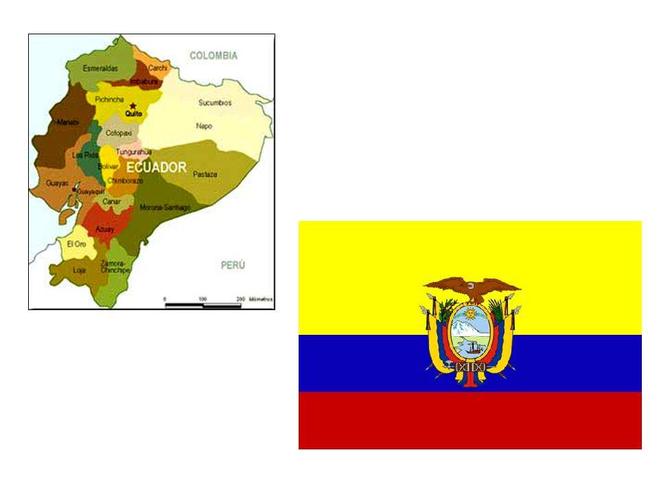 Tento stát vděčí za svůj název rovníku (Ecuador), pomyslné linii rozdělující Zemi na dvě polokoule, který prochází územím státu.
