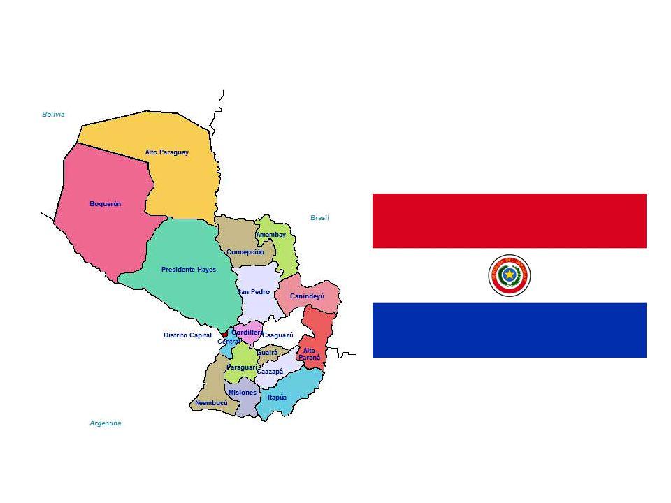 Jméno Paraguay prý sestává z následujících slov jazyka guaraní: pará, 'moře', gúa nebo guara, 'rodem (z) ', a y, 'řeka', což by pak mohlo znamenat 'Ře