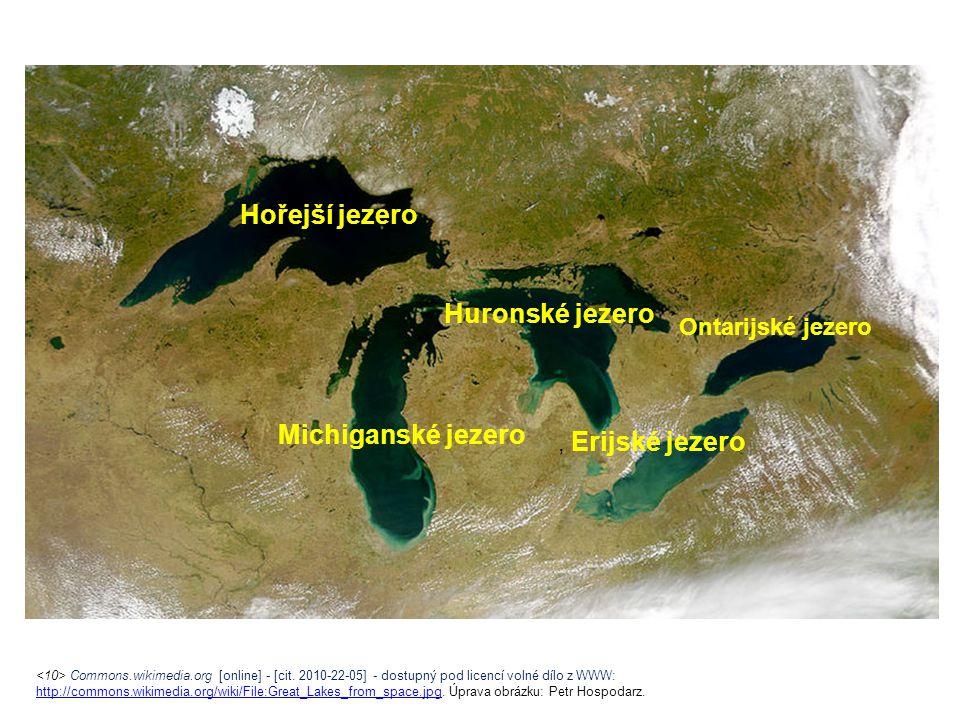 Commons.wikimedia.org [online] - [cit. 2010-22-05] - dostupný pod licencí volné dílo z WWW: http://commons.wikimedia.org/wiki/File:Great_Lakes_from_sp