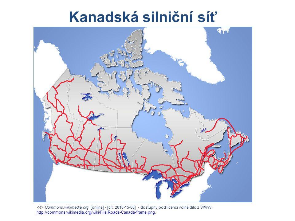 Commons.wikimedia.org [online] - [cit. 2010-15-06] - dostupný pod licencí volné dílo z WWW: http://commons.wikimedia.org/wiki/File:Roads-Canada-frame.