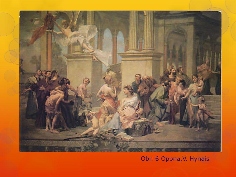 Obr. 6 Opona,V. Hynais