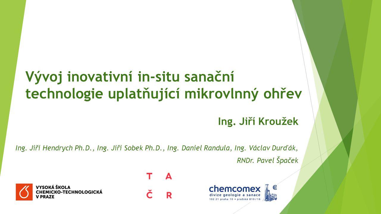 Projekt TAČR TA02021346 Vývoj mobilní technologie pro sanaci pozemních staveb a povrchů Příjemce: CHEMCOMEX Praha, a.s.