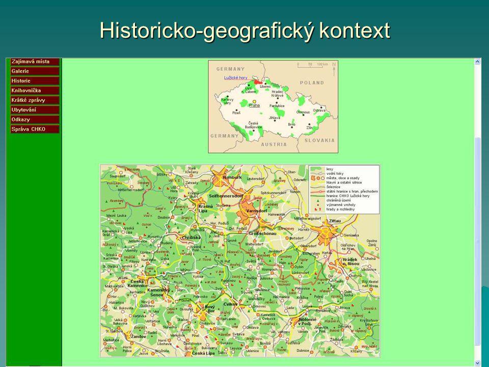 Historicko-geografický kontext