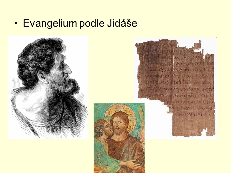 Evangelium podle Jidáše