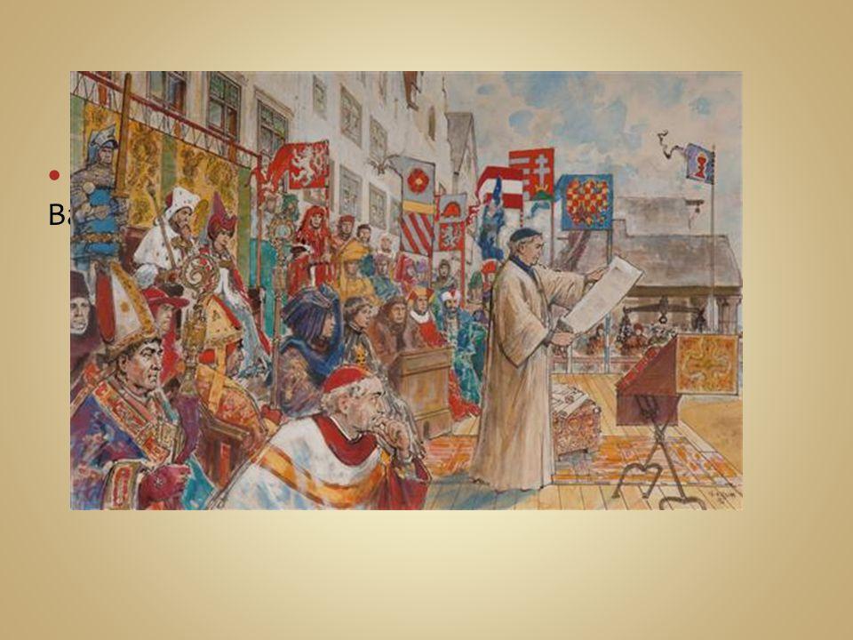 Nakonec roku 1436 byla v Jihlavě podepsána Basilejská kompaktáta.