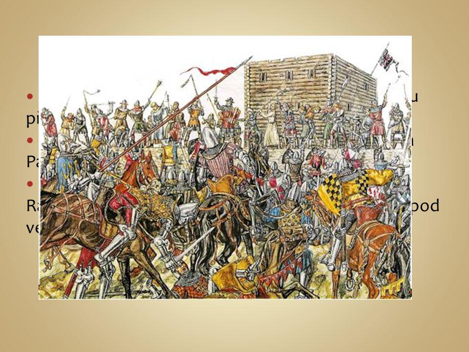 Právoplatný český král Zikmund nebyl pro většinu přijatelný a tak nemohl nastoupit na trůn. Roku 1420 byla na požádání Zikmunda vypravena Papežem Křiž