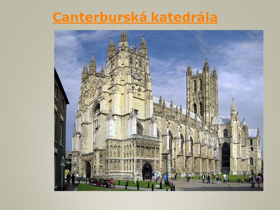 Canterburská katedrála