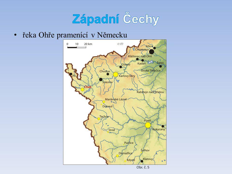 řeka Ohře pramenící v Německu Obr. č. 5